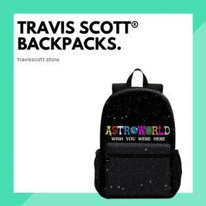 Travis Scott Backpacks