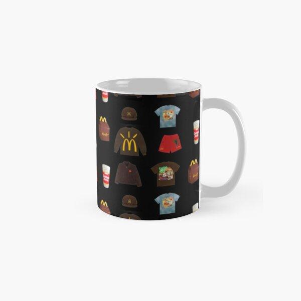 Travis Scott x McDonald's Sticker Pack Classic Mug RB0107 product Offical Travis Scott Merch