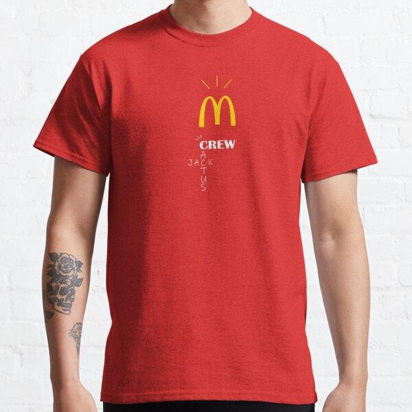 Travis Scott x McDonald's Classic T-Shirt Classic T-Shirt RB0107 product Offical Travis Scott Merch