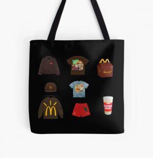 Travis Scott x McDonald's Sticker Pack All Over Print Tote Bag RB0107 product Offical Travis Scott Merch