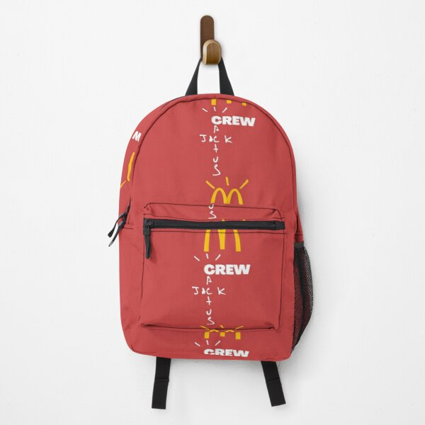 Travis Scott x McDonald's Crew cactus jack mcdonalds Backpack RB0107 product Offical Travis Scott Merch