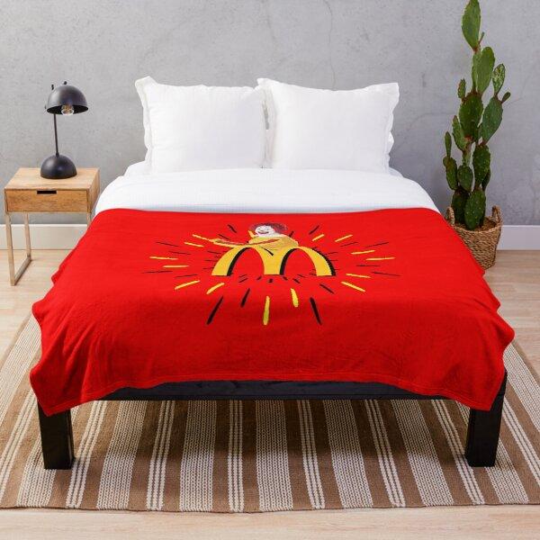 mcdonalds cactus jack T-shirt  Throw Blanket RB0107 product Offical Travis Scott Merch