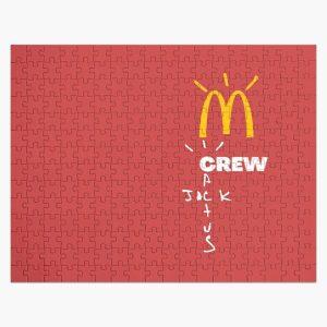 Travis Scott x McDonald's Crew cactus jack mcdonalds Jigsaw Puzzle RB0107 product Offical Travis Scott Merch
