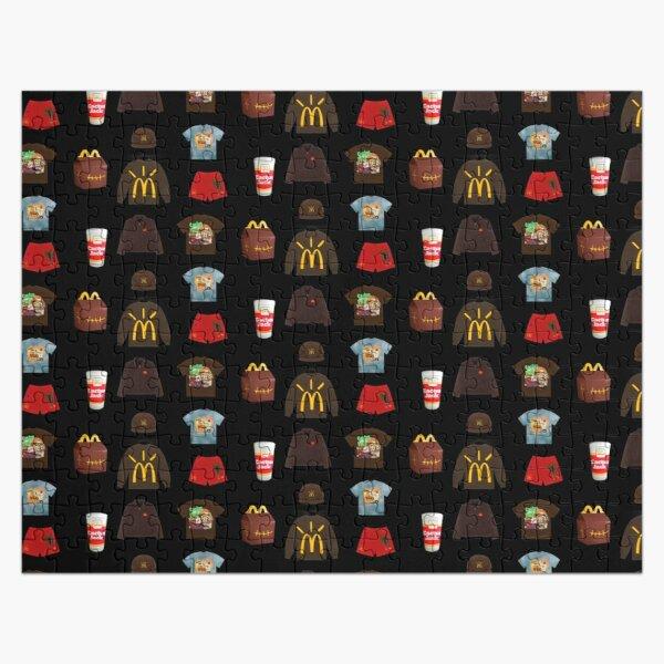 Travis Scott x McDonald's Sticker Pack Jigsaw Puzzle RB0107 product Offical Travis Scott Merch