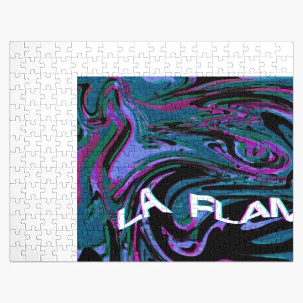 La Flame - Travis Scott Art Jigsaw Puzzle RB0107 product Offical Travis Scott Merch