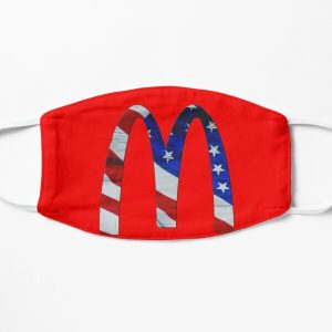 Mcdonald's Cactus Jack in usa Classic T-Shirt Flat Mask RB0107 product Offical Travis Scott Merch