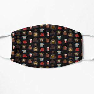 Travis Scott x McDonald's Sticker Pack Flat Mask RB0107 product Offical Travis Scott Merch