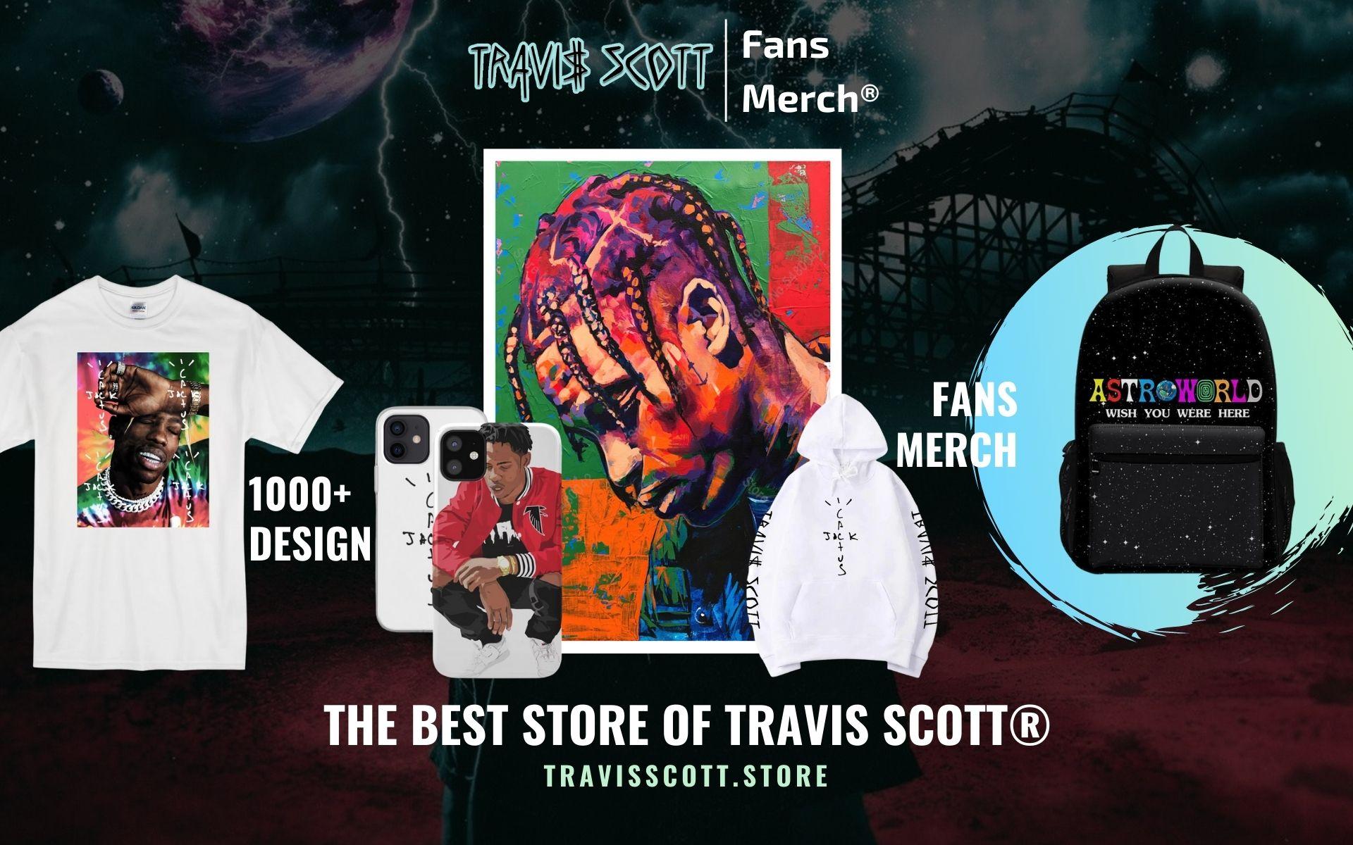 Travis Scott Merch Web Banner - Travis Scott Store